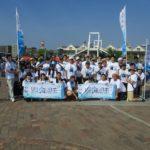 第16回かごしま錦江湾サマーナイト大花火大会 ボランティア清掃