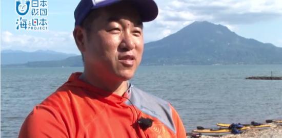海応援動画#13 錦江湾でカヌー体験