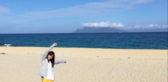 屋久島町ふるさとウィーク!永田いなか浜は海の向こうに口永良部島が見える!!
