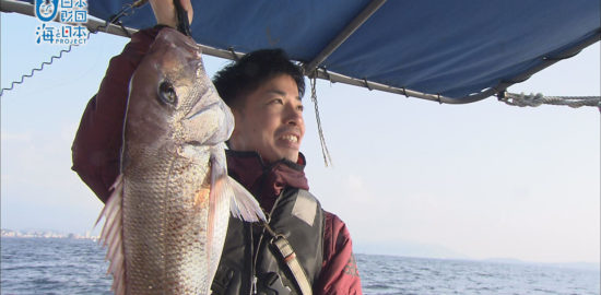 海と日本PROJECTin鹿児島!「#2 春の真鯛釣り~錦江湾若船頭の会」