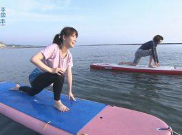 海と日本PROJECTin鹿児島!「#14 サップに挑戦~サンセットヨガ」