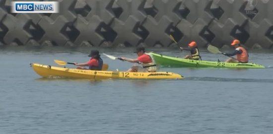 65チーム出場!錦江湾シーカヤック大会開催