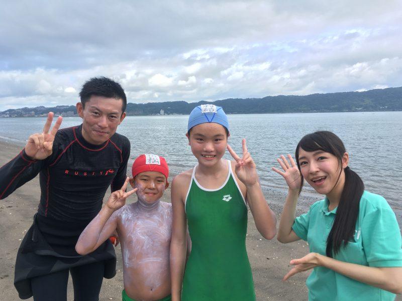【夏の伝統行事】錦江湾横断遠泳【松原小】MBCラジオモーニングスマイル