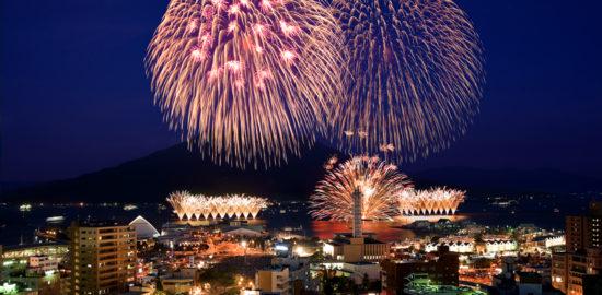 明治維新150周年記念 第18回 かごしま錦江湾サマーナイト大花火大会 公式サイト