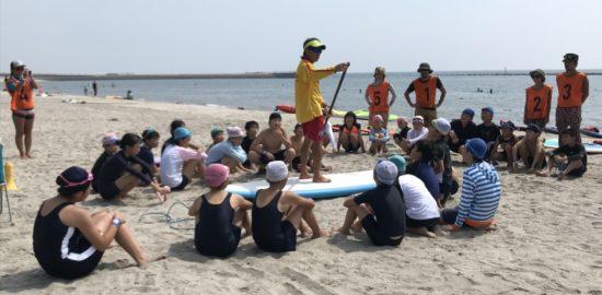 われはうみの子探検隊が行われました!一日目「ウミガメの目線で海に親しむ!」