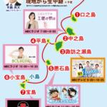 新人アナウンサー木藪亮太が中継します!「トカラ列島島めぐりマラソン大会」