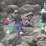 屋久島で島内一斉に海岸清掃