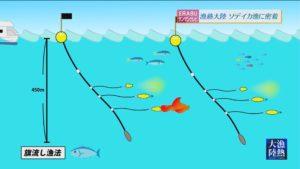 ERABUサンサンテレビ『漁熱大陸~ソデイカ漁に密着~』沖永良部島
